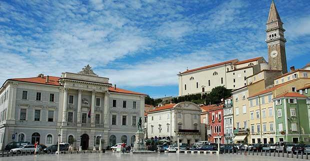 Piran, Slovenia, Adriatic sea