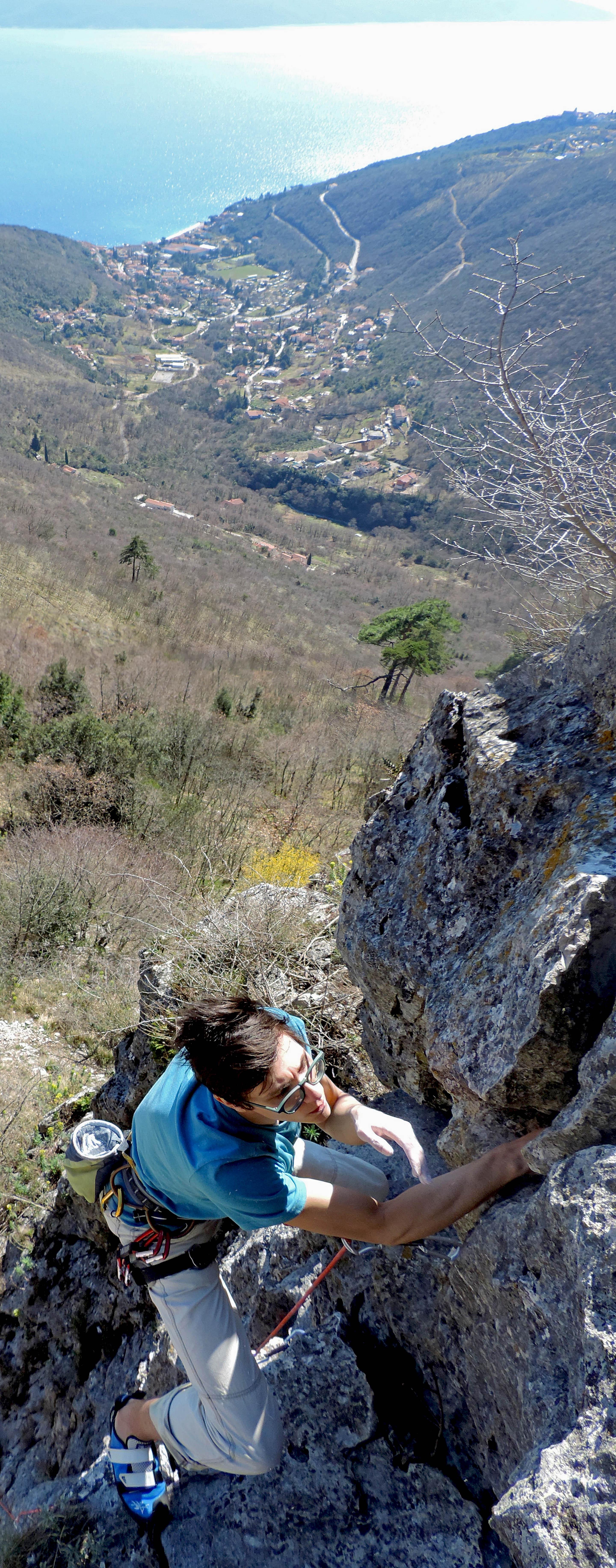 Mošćenička draga, Istria, Croatia