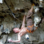 3D climbing for the strong, Luknja, Osp, Slovenia