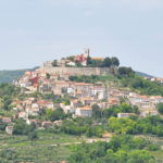 Motovun, one of the famous Istrian towns