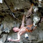 3D climbing for the strong, Luknja, Osp, Slovenia