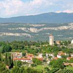 Picturesque Karst edge in Slovenia