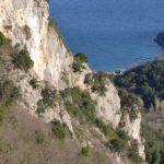 Climbing in Medveja, Istria, Croatia
